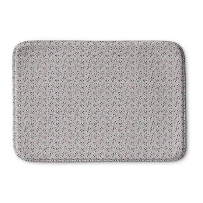 Mcconkey Memory Foam Bath Rug Size: 24 L x 17 W