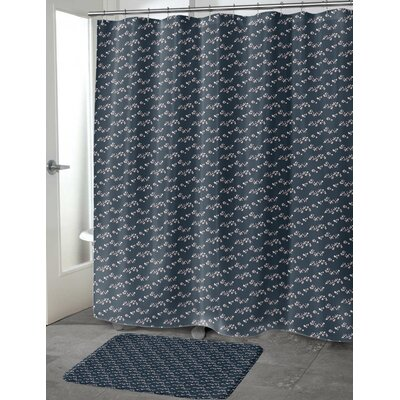 Heinen Shower Curtain Size: 70 H x 90 W