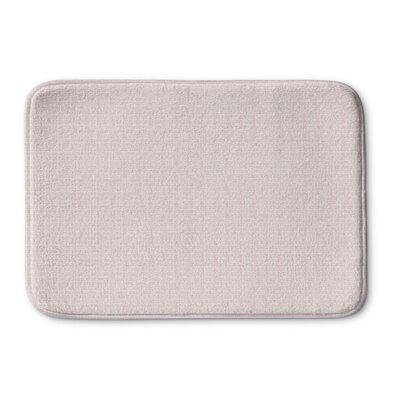 Logsdon Memory Foam Bath Rug Size: 24 L x 17 W, Color: Pink