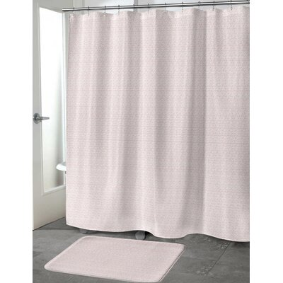 Lowenthal Shower Curtain Color: Pink, Size: 70 H x 90 W
