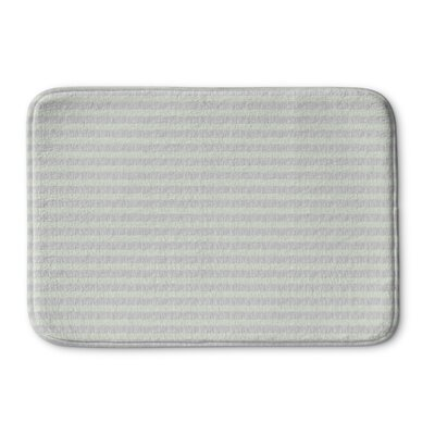 Hartnett Memory Foam Bath Rug Size: 36 L x 24 W, Color: Green