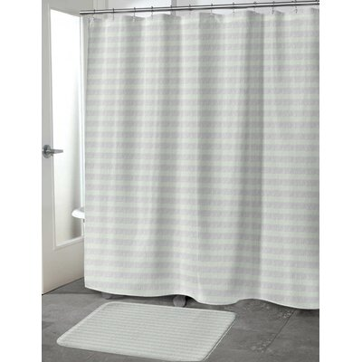 Heidelberg Shower Curtain Color: Green, Size: 70 H x 90 W