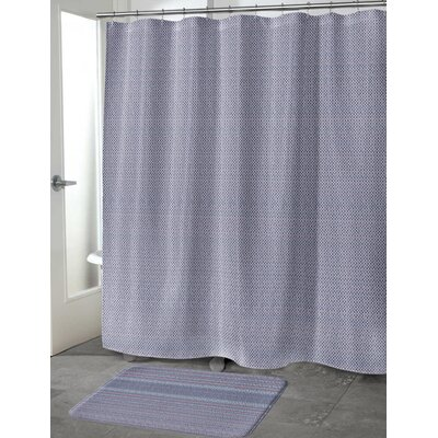 Steven Shower Curtain Size: 70 H x 72 W