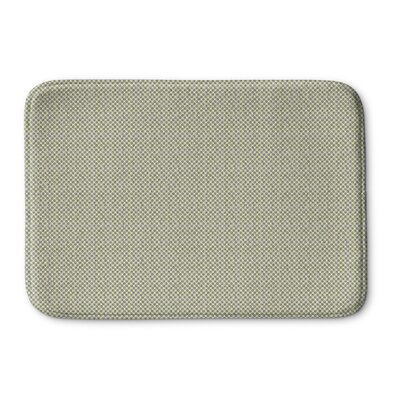 Mazurek Memory Foam Bath Rug Size: 36 L x 24 W, Color: Blue