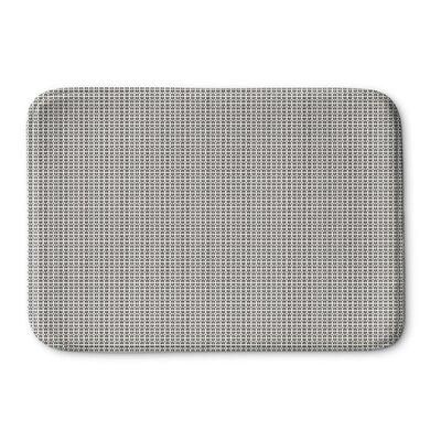 Clapper Memory Foam Bath Rug Size: 24 L x 17 W