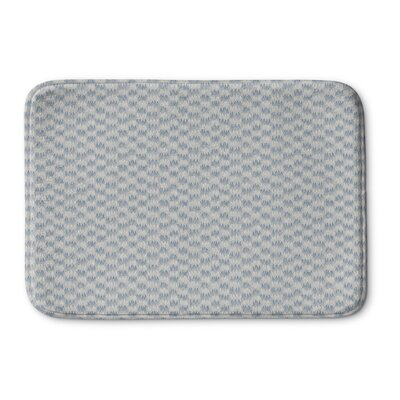 Maziarz Memory Foam Bath Rug Size: 24 L x 17 W, Color: Blue