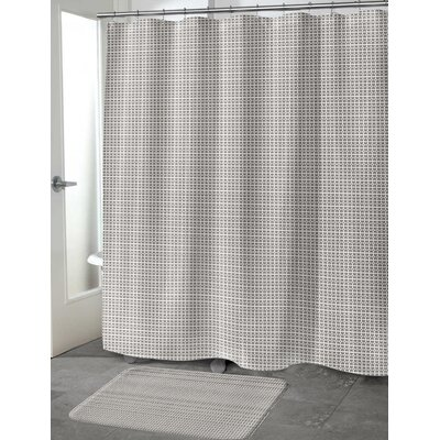 Stevens Shower Curtain Size: 70 H x 72 W