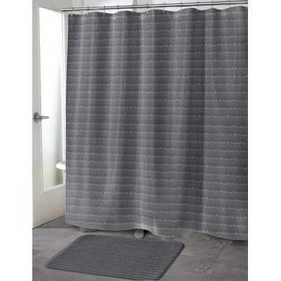 Delvalle Shower Curtain Size: 70 H x 72 W