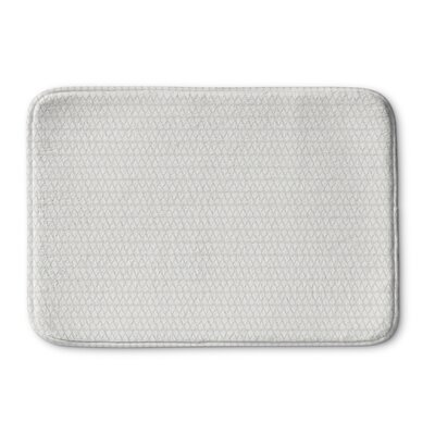 Clapton Memory Foam Bath Rug Size: 36 L x 24 W, Color: Gray