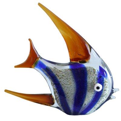 Tropical Glass Fish Figurine 74634D7142A54051B2DCCAA70141712B