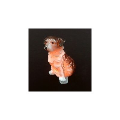 Porcelain Dog Night Light