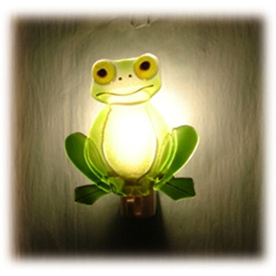 Frog Glass Night Light