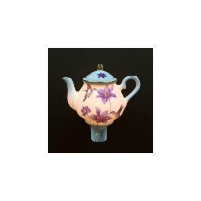 Hummingbird on Teapot Night Light