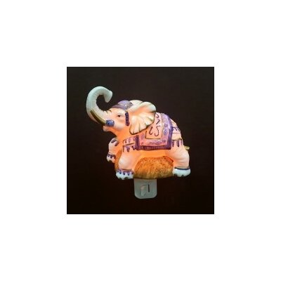 Porcelain Elephant Night Light