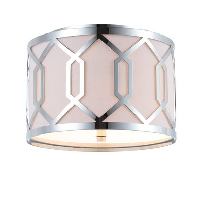 Herring Metal 2-Light Flush Mount
