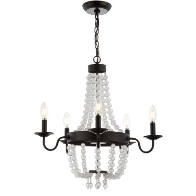 Berenice 5-Light Candle-Style Chandelier