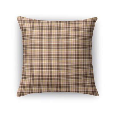 Rogge Plaid Throw Pillow Size: 16 x 16