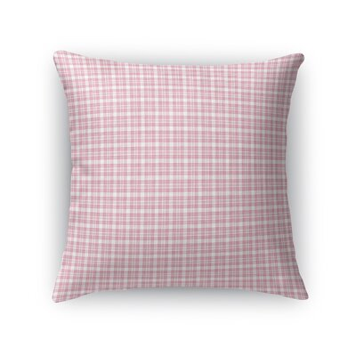 Carnahagh Plaid Throw Pillow Size: 24 x 24