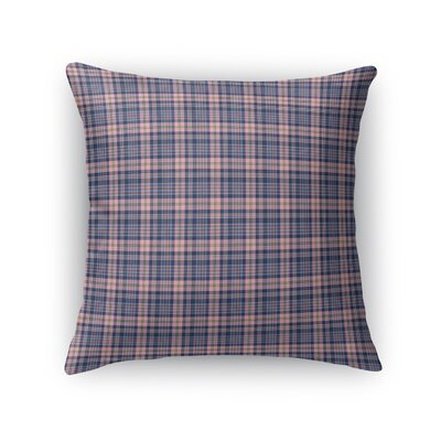 Mandel Plaid Throw Pillow Size: 16 x 16