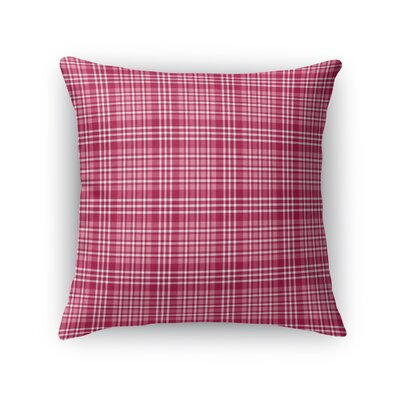 Carnahagh Plaid Throw Pillow Size: 18 x 18