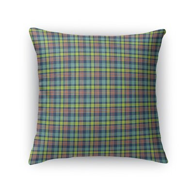 Truxton Plaid Throw Pillow Size: 16 x 16