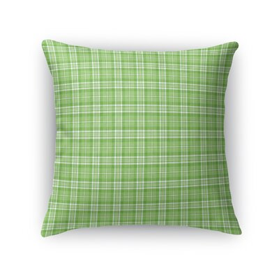 Almaraz Plaid Throw Pillow Size: 16 x 16