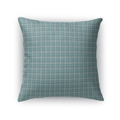 Rogowski Plaid Throw Pillow Size: 16 x 16