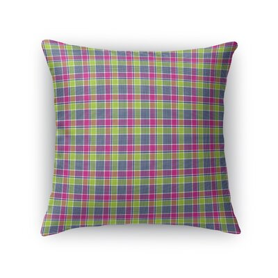 Malott Plaid Throw Pillow Size: 16 x 16