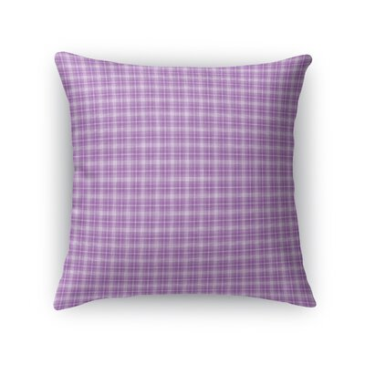 Malmberg Plaid Throw Pillow Size: 24 x 24