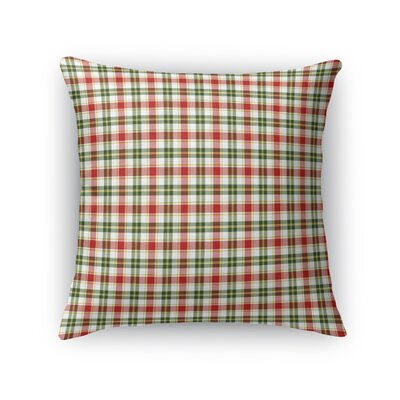 Althoff Plaid Throw Pillow Size: 16 x 16