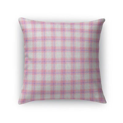 Malmberg Plaid Throw Pillow Size: 18 x 18