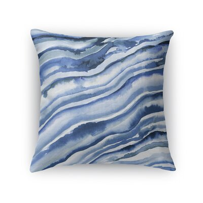 Lower Hounsley Waves Throw Pillow Size: 24 x 24