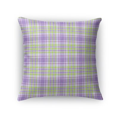 Maloy Plaid Throw Pillow Size: 24 x 24