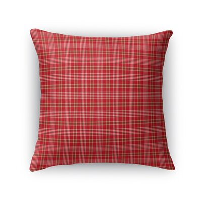 Hutchison Plaid Throw Pillow Size: 16 x 16