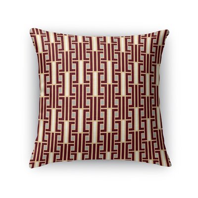 Hinton Charterhouse Throw Pillow Size: 18 x 18