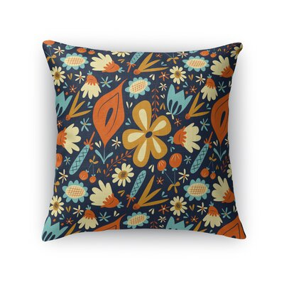 Debellis Throw Pillow Size: 18 x 18