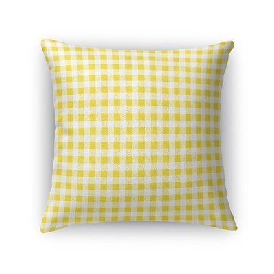 Les Plaid Throw Pillow Size: 18 x 18