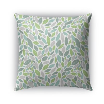Dagostino Indoor/Outdoor Pillow Color: Green/Purple, Size: 26 x 26, Product Type: Euro