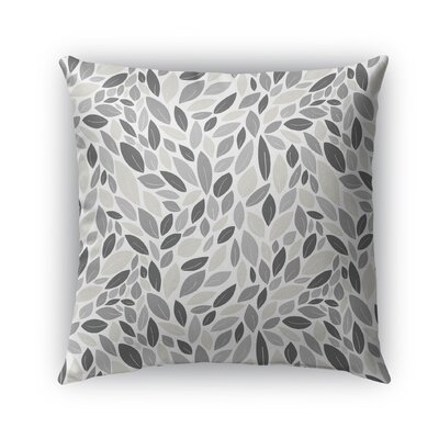 Dagostino Indoor/Outdoor Pillow Color: Gray/Tan, Size: 18 x 18, Product Type: Throw Pillow