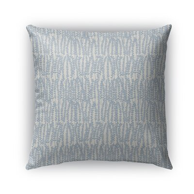 Mangino Indoor/Outdoor Pillow Color: Light Blue/Gray, Size: 26 x 26, Product Type: Euro