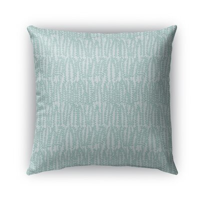 Mangino Indoor/Outdoor Pillow Color: Light Green/Light Gray, Size: 18 x 18, Product Type: Throw Pillow
