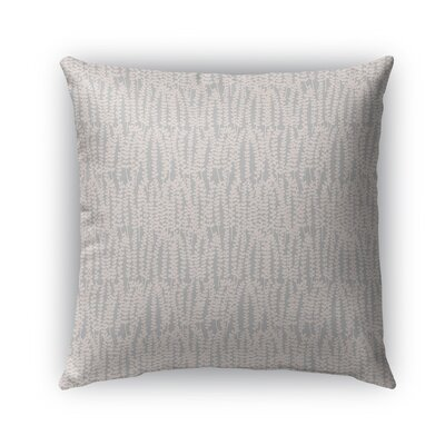 Mangino Indoor/Outdoor Pillow Color: Peach/Gray, Size: 16 x 16, Product Type: Throw Pillow