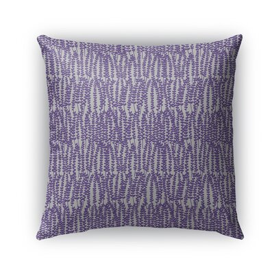 Mangino Indoor/Outdoor Pillow Color: Purple/Gray, Size: 18 x 18, Product Type: Throw Pillow