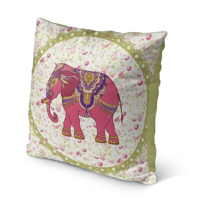Atterberry Indoor/Outdoor Throw Pillow Size: 18 x 18