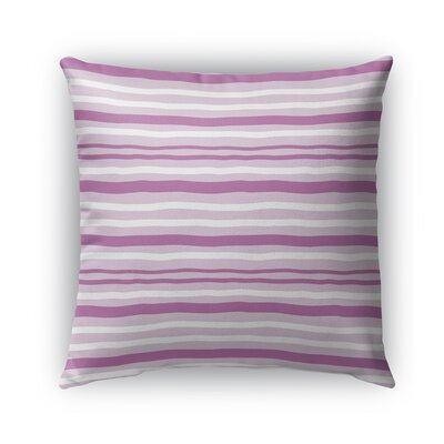 Ewers Indoor/Outdoor Pillow Color: Pink, Size: 18 x 18, Product Type: Throw Pillow