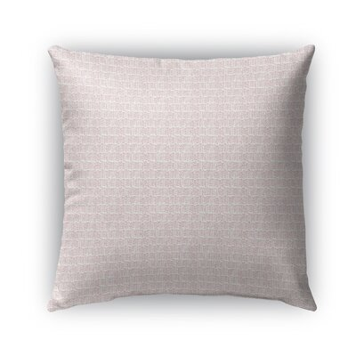 Lower Vobster Indoor/Outdoor Pillow Color: Pink, Size: 16 x 16, Product Type: Throw Pillow