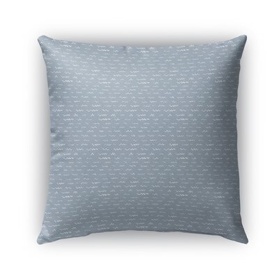Leake Indoor/Outdoor Pillow Color: Blue, Size: 26 x 26, Product Type: Euro