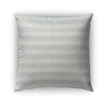 Lazo Indoor/Outdoor Pillow Color: Green/Gray, Size: 26 x 26, Product Type: Euro