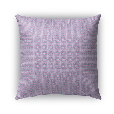 Stickland Indoor/Outdoor Pillow Color: Purple/Navy Blue/Light Blue, Size: 18 x 18, Product Type: Throw Pillow