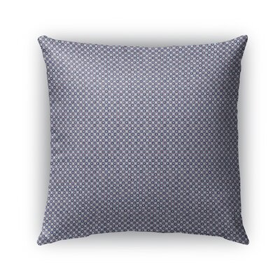 Stickland Indoor/Outdoor Pillow Color: Pink/Blue/Fuschia, Size: 18 x 18, Product Type: Throw Pillow